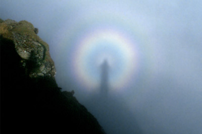 Brocken Spectre © Richard Cross