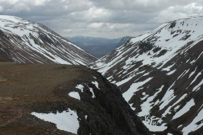 Lairig Ghru in Spring